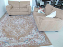 Large area rug(matching love seats sold separately), hallway rug- 4 meters long