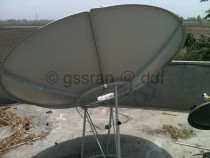 6 Feet Dish With new LNB for sale