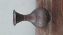 Old Bronze Flower Pot