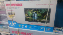 "Micromax LED 43"" Full HD Guranteed. with 1 year Waranty"