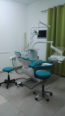 Dental chair-belmont clesta-II, Japanese, with cabinet