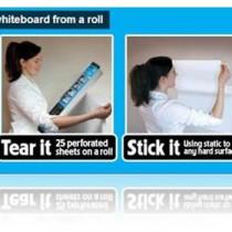 Extra Cling A1 Plain White Magic Whiteboard