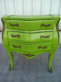 Wooden nightstand ....