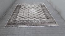 Old silk persian rug...