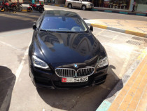 BMW 650, under warranty