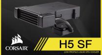 Hydro Series™ H5 SF Low-Profile Liquid CPU Cooler