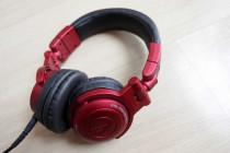 Audio Technica ATH Pro500MK2 Red