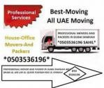 FURNITURE DELIVERY MOVING PACKING SERVICES 0503536196 IN UAE DUBAI