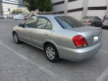 Nissan sunny 2005 model, fully automatic, silver color, Nissan agency maintained