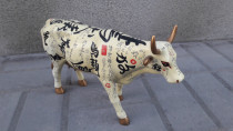 Chinese carved cow statue