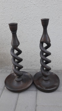 Candle pair of stand