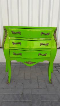 Fancy green nightstand