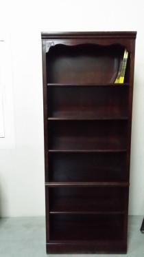Wooden book shelf..