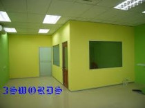 SC calcium silicate board partition, Fire Proof Gypsum Partition,  Soundproof