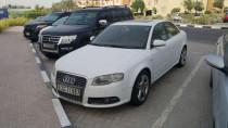 Audi a4 white  full option