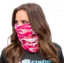 Face Shield / Mask - Pink Camo Design