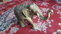 Heavy bronze elephant,