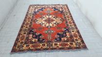 Orange Persian rug ,