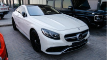 2015 Mercedes-Benz S 63 AMG Coupe V8 BITURBO available in Abu Dhabi