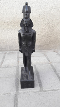 Carved statue ,