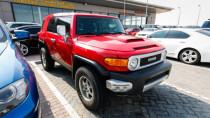 2012 Toyota FJ Cruiser availabe for sale in Abu Dhabi