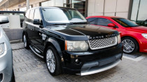 2010 Land Rover Range Rover Sport Supercharged available for sale in Abu Dhabi