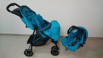 Graco like new, car seat and stroller