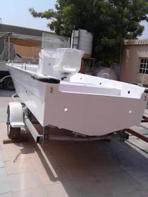 BOAT 20 feet fiberglass 16000 AED