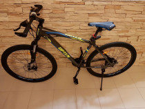 "19"" (LARGE FRAME) FAMOUS UPTEN FULL ALUMINIUM MOUNTAIN BIKE WITH ALL ACCESSORIES"
