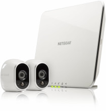 Netgear Arlo Smart Home Security System with 2HD Camera - VMS3230