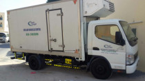 3ton refrigerator trucks available for rent