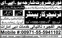 Carpenter and Mason Required