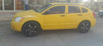For sale two dodge calibre 2007 cars yellow and black