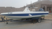 22ft boat 200hp yamaha engine done 26 hours only