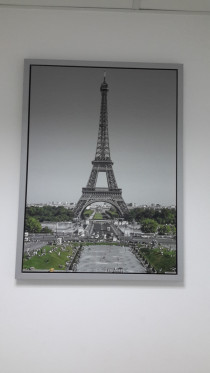EIFFEL TOWER PICTURE FOR OFFICE - (77 X 75 cm)
