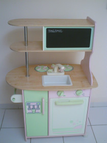 Play Kitchen and Doll house, wooden for Sale