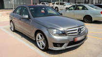 2012 Mercedes-Benz C 200 Blue Efficiency available for sale in Abu Dhabi