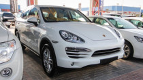 White 2014 Porsche Cayenne Available for Sale in Dubai
