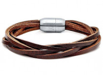 New Leather Bracelet 3 pieces