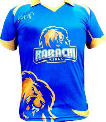 Pakistan Super League Karachi Kings  Jerseys