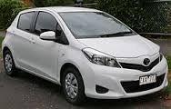 2012 Aug Model Toyota Yaris car for sale.