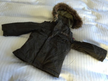 IKKS Boys Parker coat with added body warmer, suit age 4-5 year