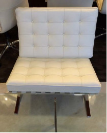 OFFICE FURNITURE- BARCELONA CHAIRS - LEATHER FINISH