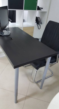 IKEA Office Table with cable trunking