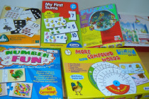 Various games and puzzles