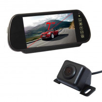 7 Inch Lcd Hd Monitor for Car with backside Night Vision Camera