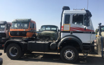 mercedes benz 2038  4+4 very good trucks