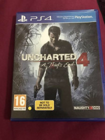 UNCHARTED 4 PS4 for sale