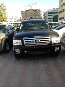 Infiniti QX56 2007. Clean car for the price of Armada.Very luxurious & 112000 KM