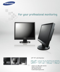 """SAMSUNG LCD CCTV monitor 19"""" HD LCD for computers & CCTV system"""